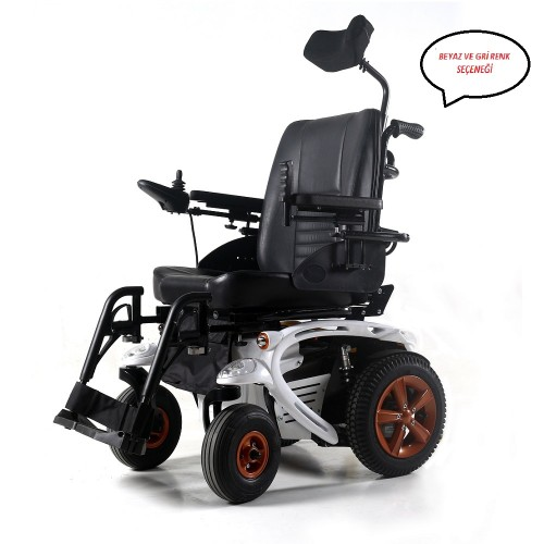 Poylin P278 Ultra Power Akülü Tekerlekli Sandalye
