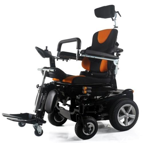 Poylin P301 Ultra Lüks Ayağa Kaldıran Akülü Tekerlekli Sandalye