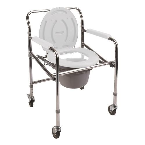 Poylin P561 Katlanır Komot Tuvalet Sandalyesi