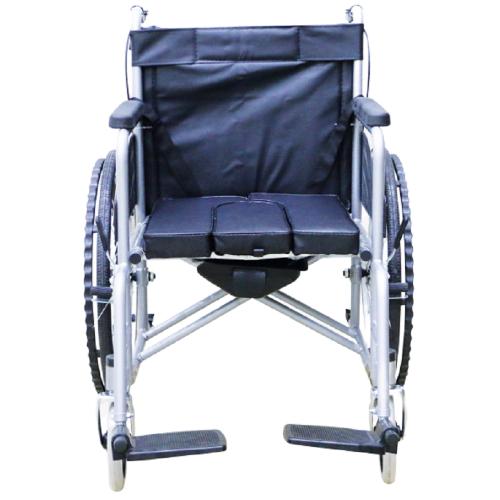Poylin P607 Deri Döşemeli Tuvalet Sandalyesi