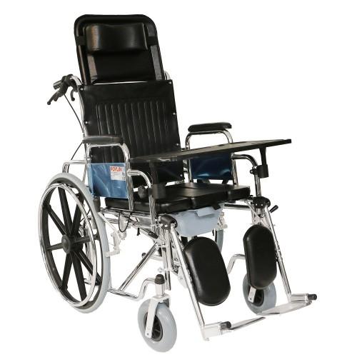 Poylin P615 Banyo Tuvalet Tekerlekli Sandalye