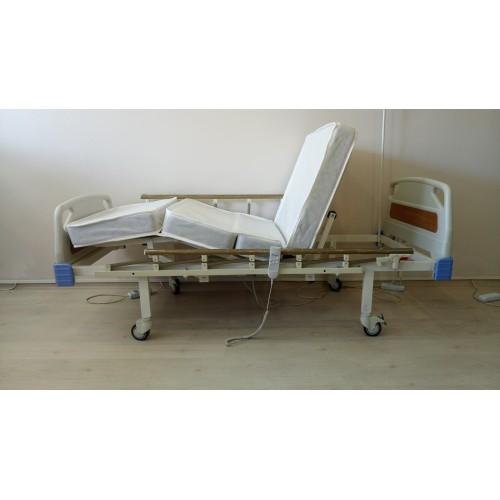 PY152 2 Motorlu ABS Başlıklı Hasta Karyolası + 4 Parçalı Yatak