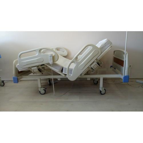 PY152/A 2 Motorlu Full ABS Hasta Karyolası + 4 Parçalı Yatak
