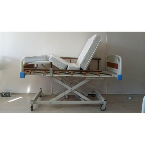 PY153 3 Motorlu ABS Tabanca Ve Asansörlü Hasta Karyolası + 4 Parçalı Yatak