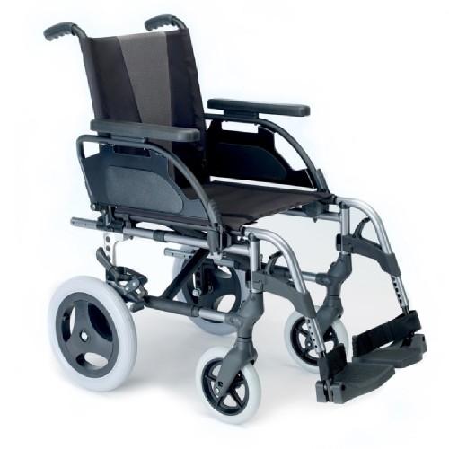 """Breezy Style Alüminyum Manuel Tekerlekli Sandalye (12"""" Arka Tekerlekler)"""