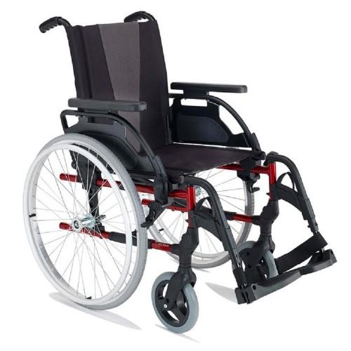 """Breezy Style Alüminyum Manuel Tekerlekli Sandalye (24""""Arka Tekerlekler)"""