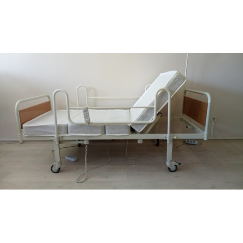 PY151 2 Motorlu Ekonomik Hasta Karyolası + 4 Parçalı Yatak