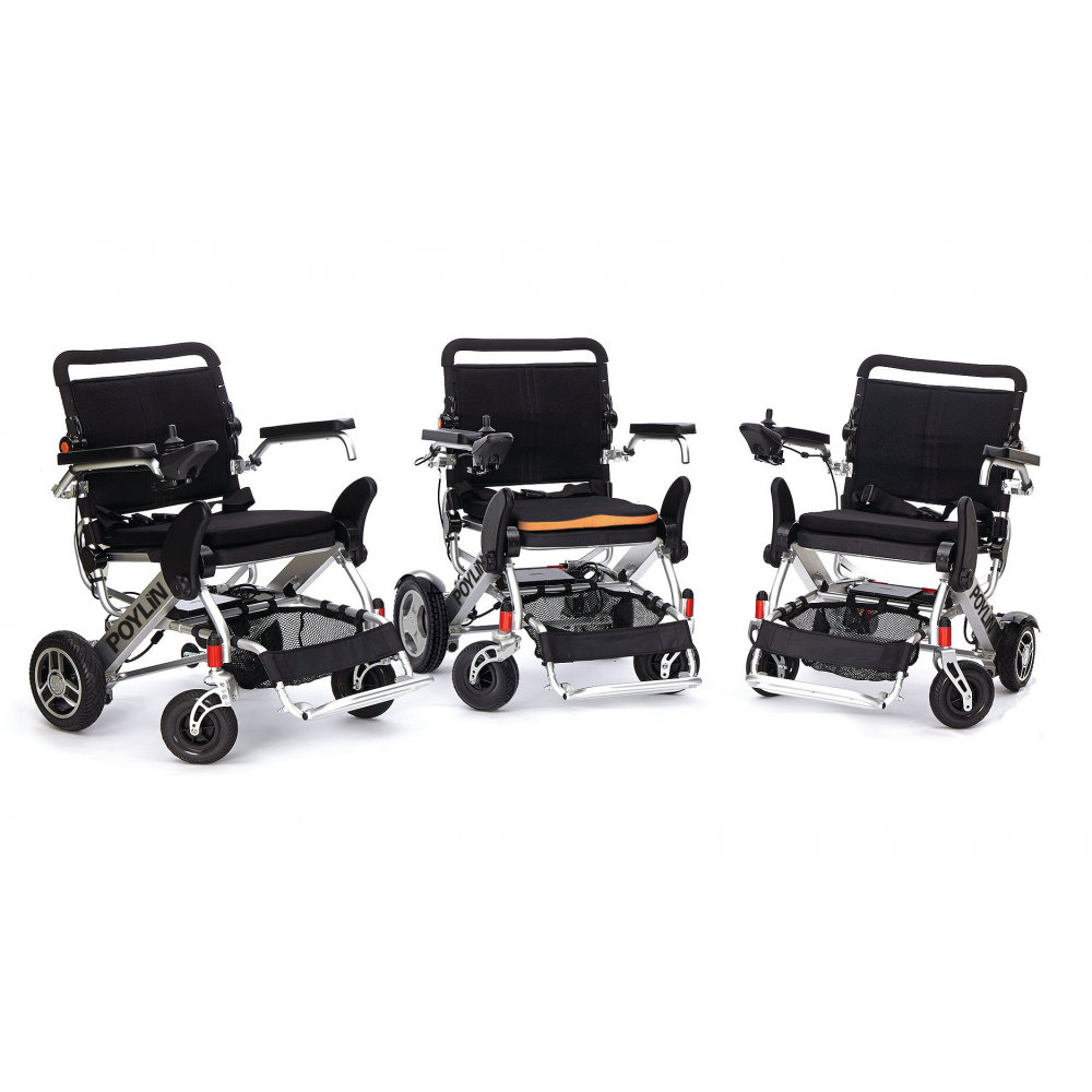 Poylin P208 Katlanabilir Hafif Akülü Tekerlekli Sandalye Fiyatları
