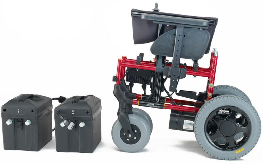 Quickie F35 R2 Katlanabilir Akülü Tekerlekli Sandalye Fiyatı