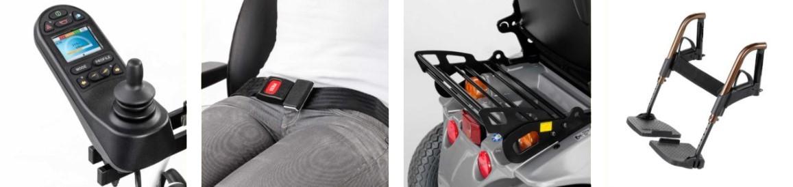 Meyra Optimus 2 Arazi Tip Akülü Tekerlekli Sandalye Fiyatları