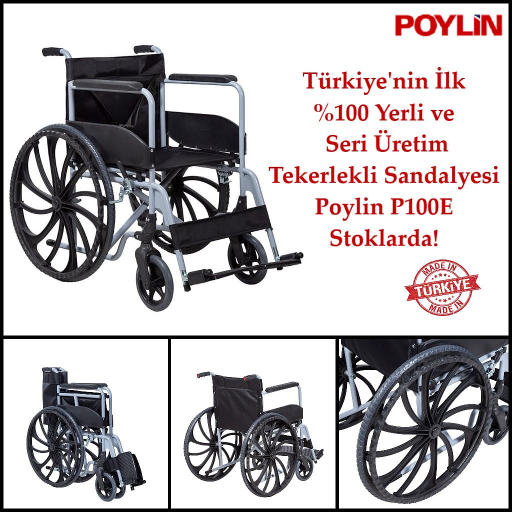 Poylin Medikal P100E Ekonomik Tekerlekli Sandalye Duyuru